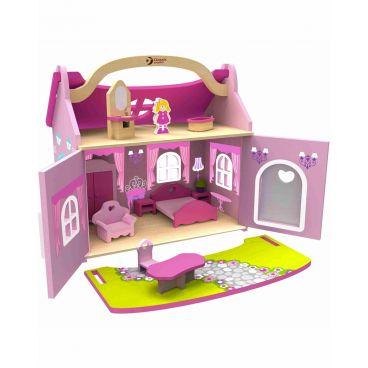 Купить Кукольный Домик-чемодан Classic World