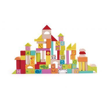 Купить Увлекательные строительные кубики по карточкам Classic World