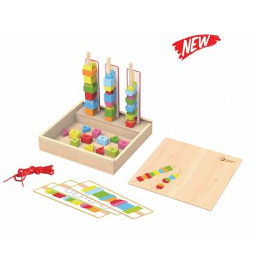 Купить Игровой набор фигурок в деревянной коробке Classic World