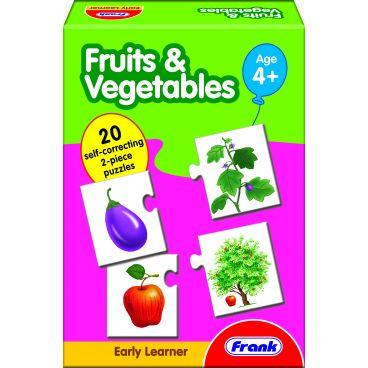 """Купить Пазл """"Фрукты и овощи"""" Frank"""